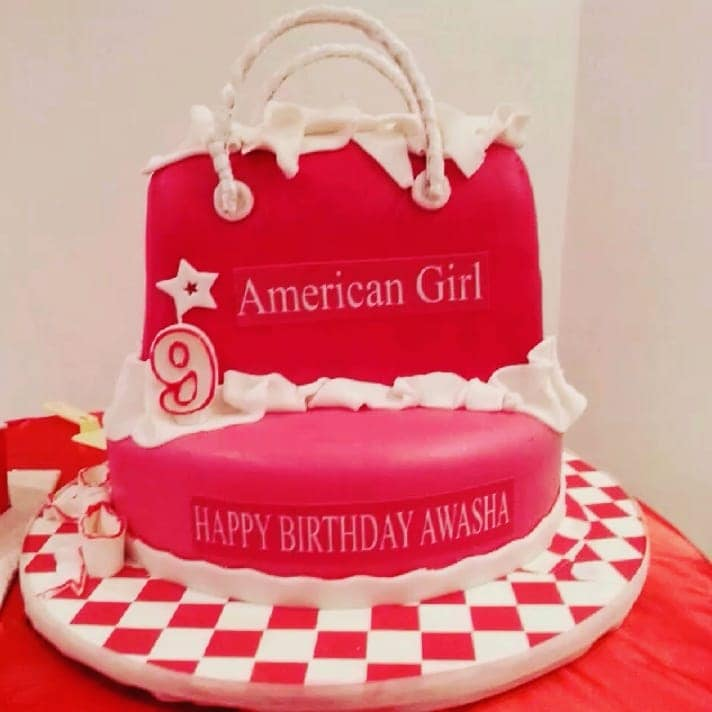 Marvelous American Girl Doll Party Ideas Girls Party Ideas American Girl Funny Birthday Cards Online Elaedamsfinfo